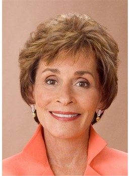 Judge Judy Short Choppy Layered Human Hair Capless Wigs
