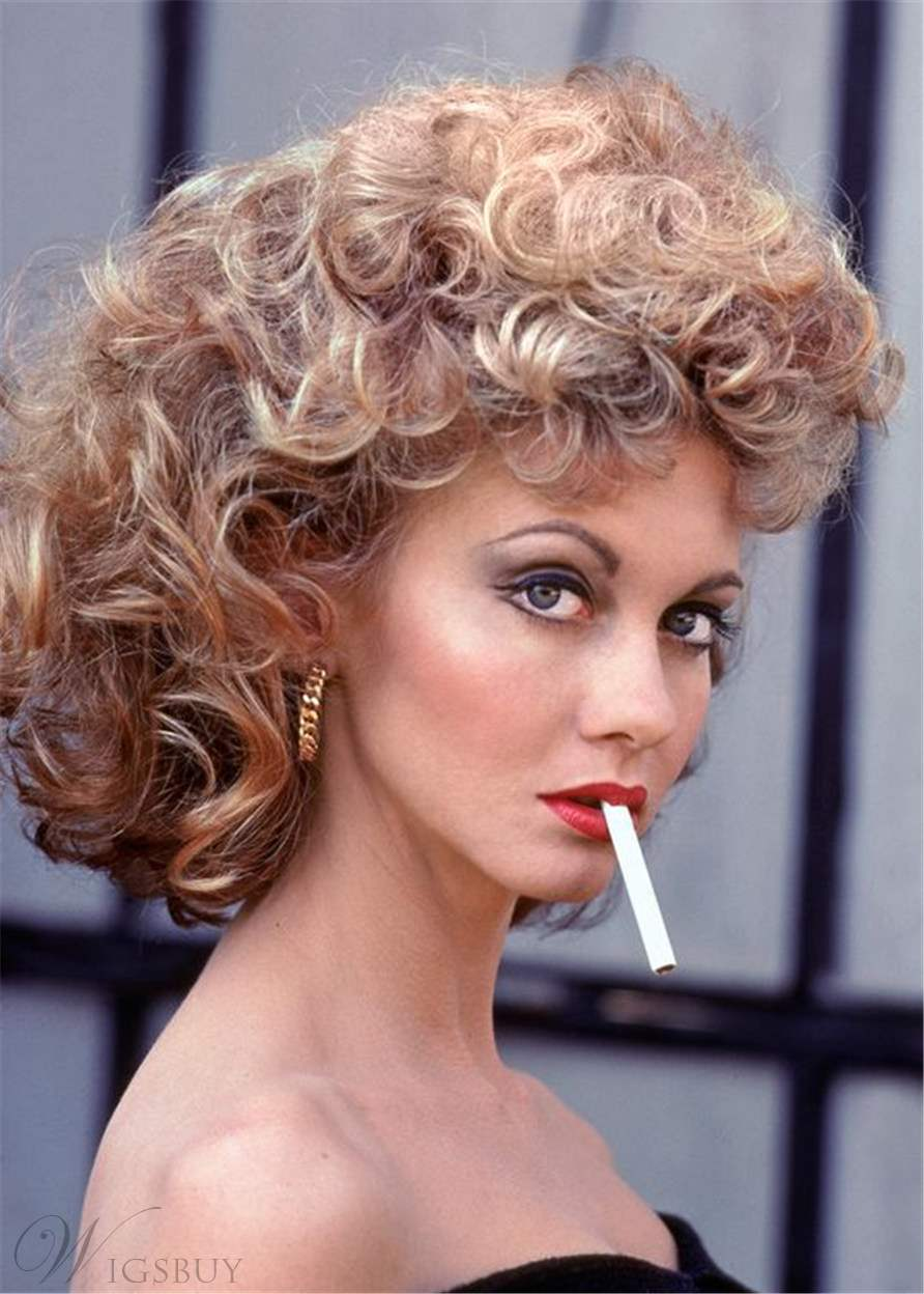 Susan Sarandon Hair Type Curly Synthetic Hair Women Wig