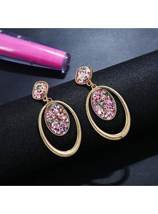 Hoop Double Style Earrings