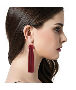 Colorful Tassels Fashion Earrings