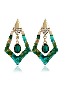 Bohemian Style Fashion Geometric Earrings