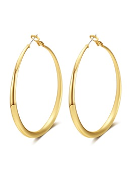 Hoop Alloy New Style Fashion Earrings