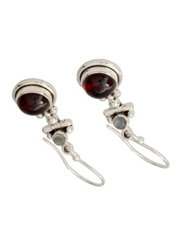 Red Agate Women Earrings