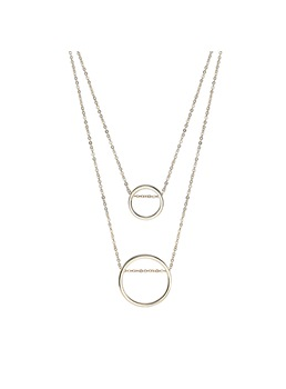 Hoop Chain Necklace