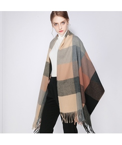 Cashmere Color Lump Women Scarf