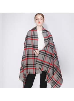 England Style Houndstooth Scarf