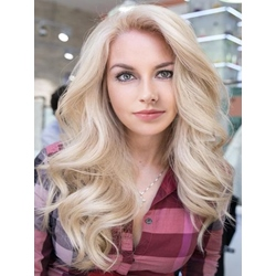 Free Parted Long Loose Wave Synthetic Hair Women Wig 24 Inches