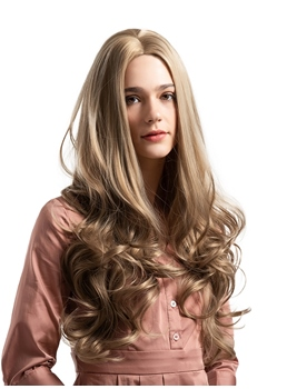 Long Layer Big Curly Synthetic Hair Women Wig
