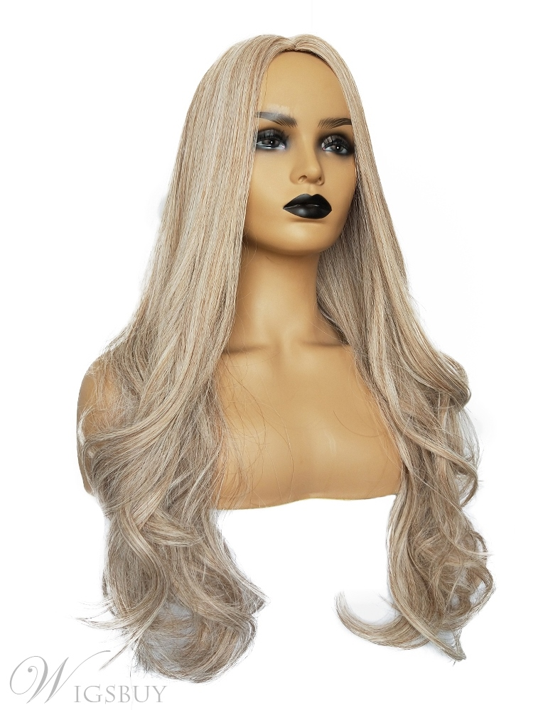 Long Big Curly Synthetic Hair Women Wigs 26 Inches