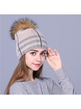 Winter Warm England Style Plush Hat For Women