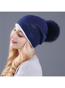 Winter Warm Plush Hat For Women