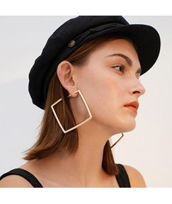 Alloy Fashion Hollow Out Earrings