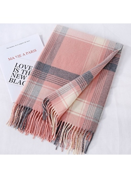 British Plaid Cashmere Scarf
