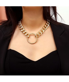 Fashion Alloy Hoop Neckace For Women