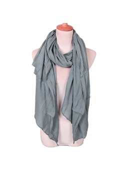 Pure Colour Winter Scarf For Women