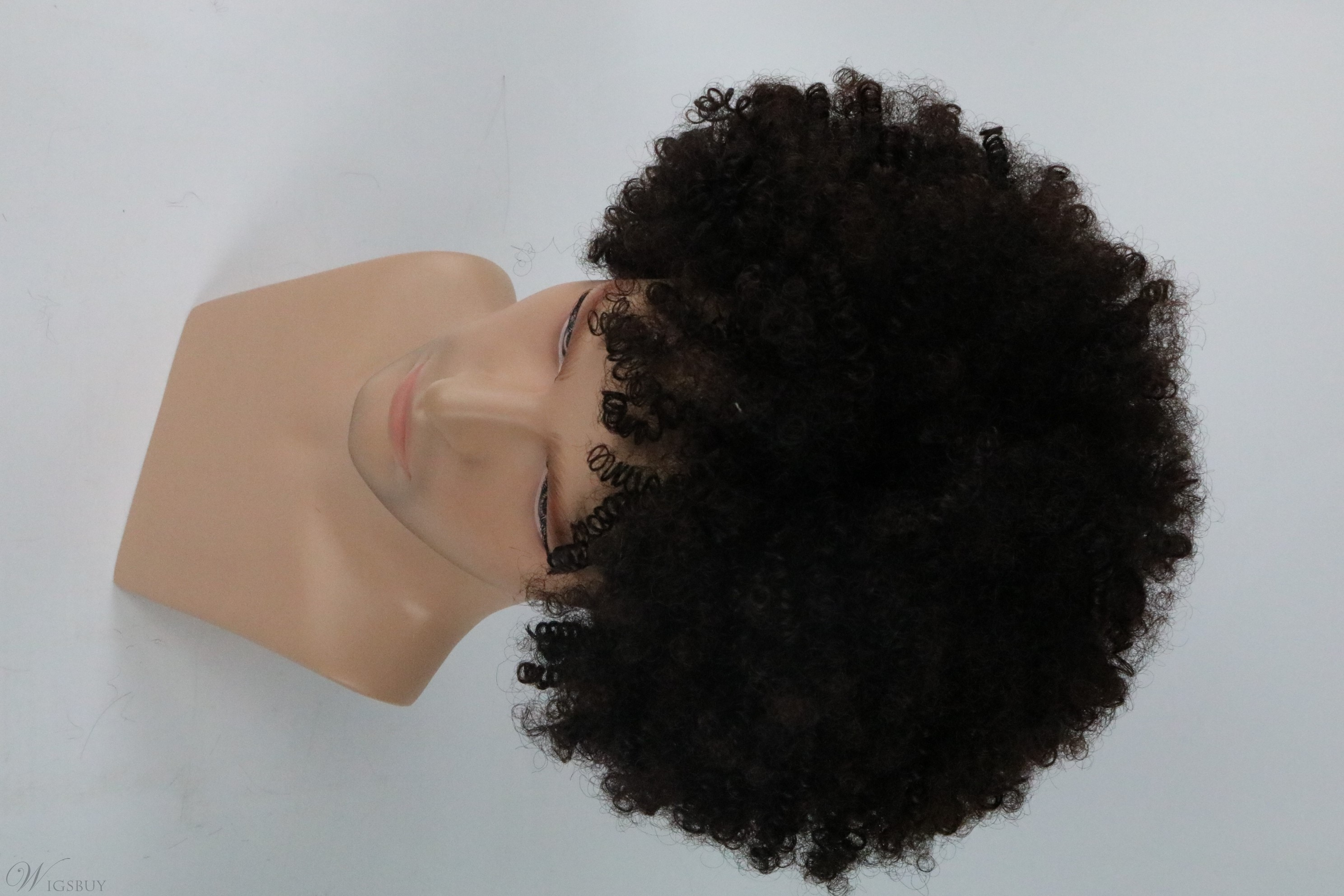 Short Fluffy Afro Wigs Synthetic Capless Wigs Unisex Men's Fancy Funny Wigs for Party 12inch