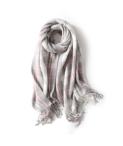 Colour Block Winter Scarf For Women