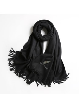 Pure Colour Imitation Winter Warm Scarf