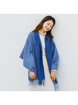 Color Matching Imitation Cashmere Winter Scarf