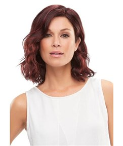 Shoulder Length Big Curly Side Swept Synthetic Hair Capless 12 Inches