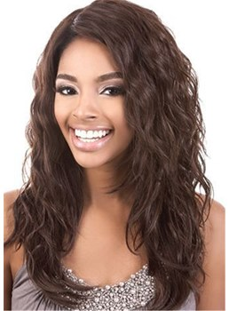 Long Wavy Synthetic Hair Capless Women Wig 22 Inches