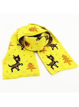 Christmas Elk Winter Warm Girl's Scarf