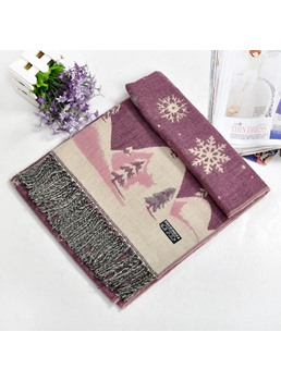 Winter Warm Snow Scarf For Women
