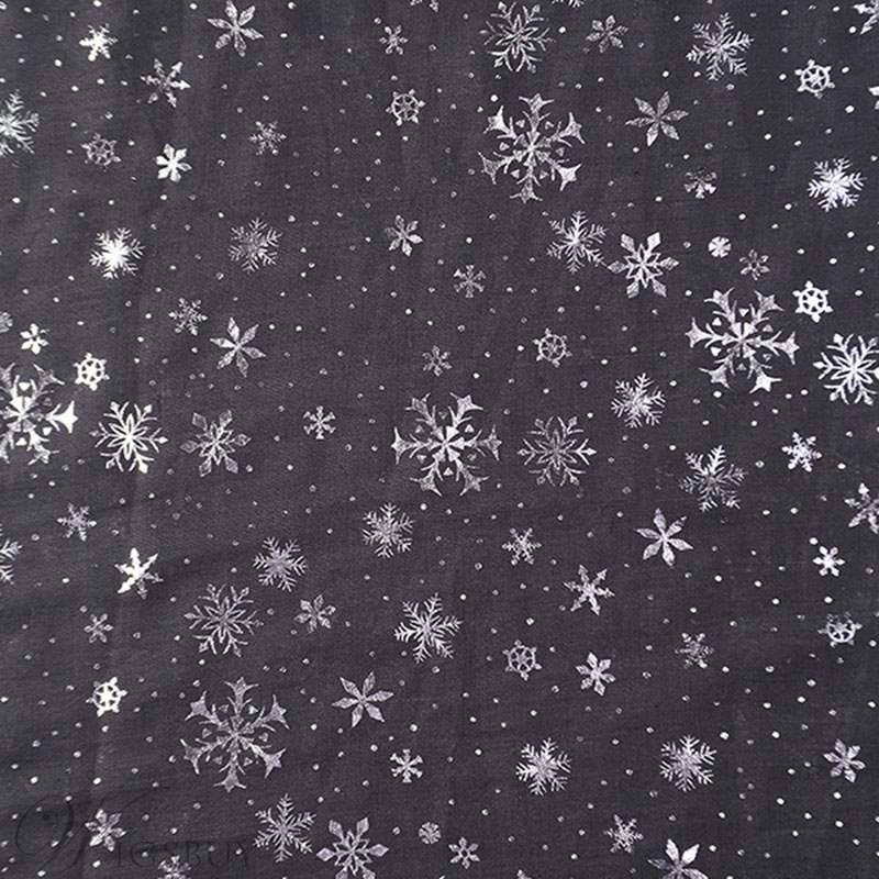 Snowflakes Printing Scarf For Women