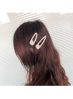 Letter Smile Diamante Shining Band Hairpin Hair Accessories