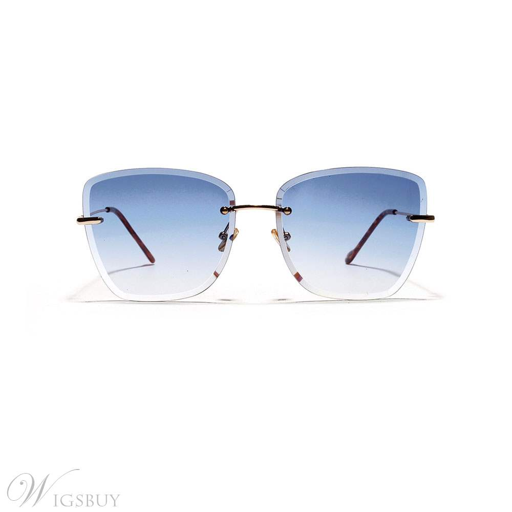 Colourful Rectangle Summer Sunglasses