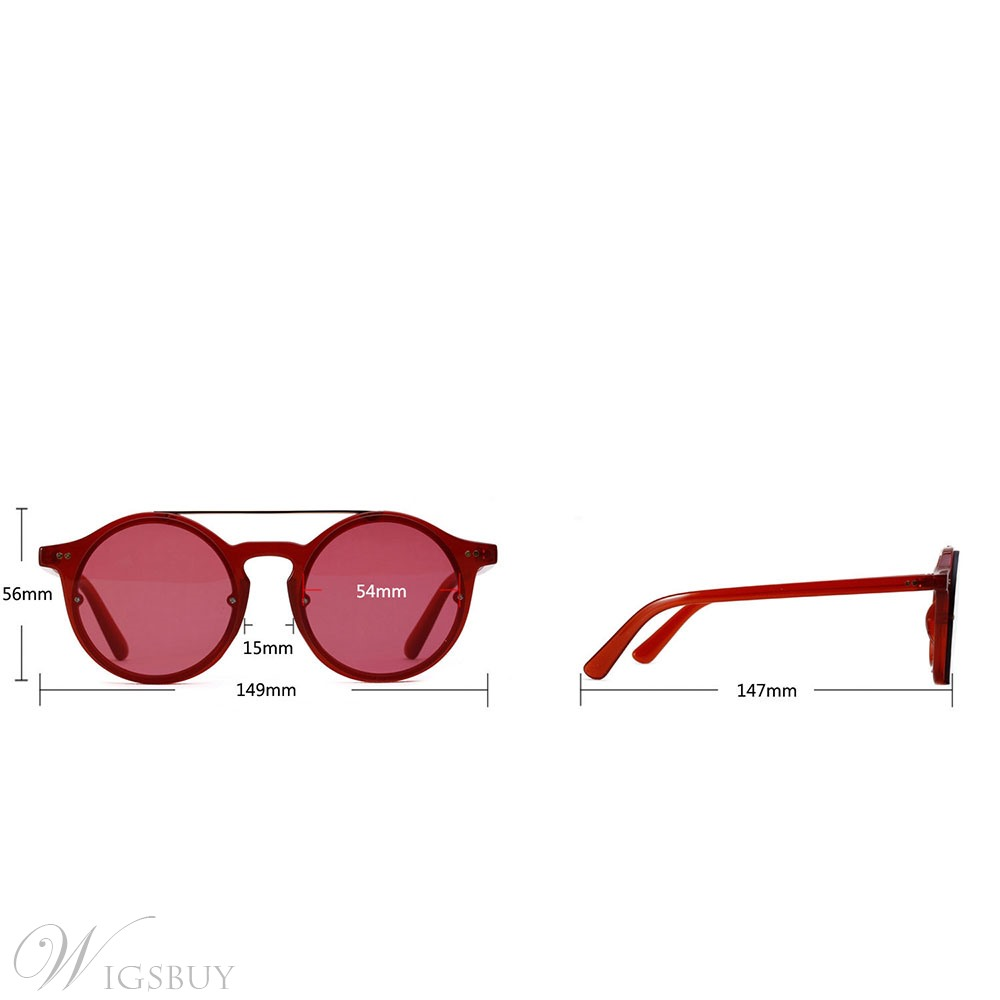 Colourful Round Sunglasses For Women