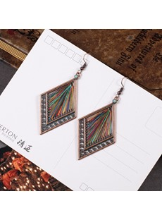Rhombus Colours Earrings