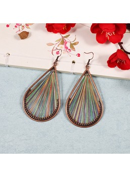 Colorful Water Drop Earrings