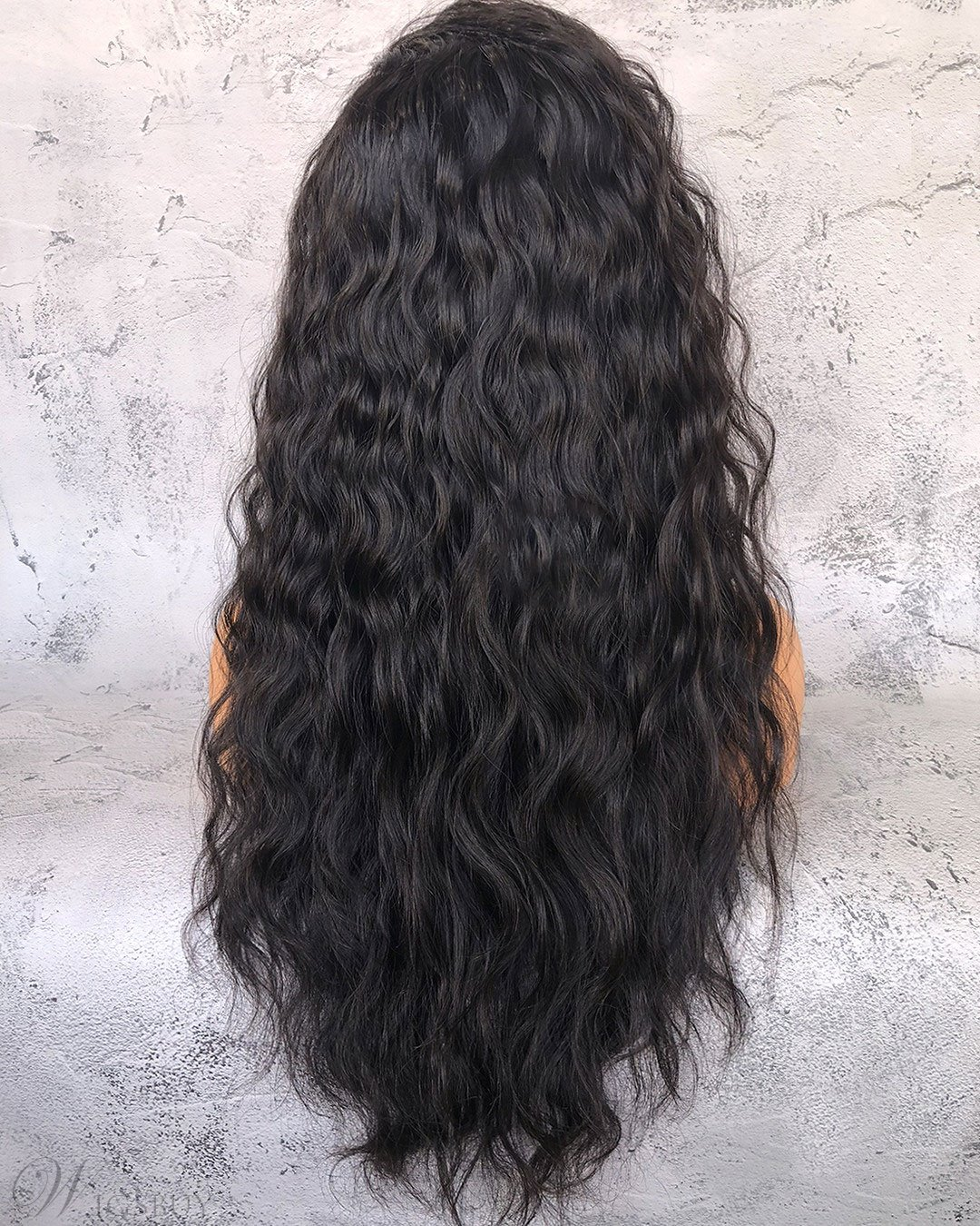 Afro Long Curly Synthetic Hair Lace Front Women Wig 26 Inches