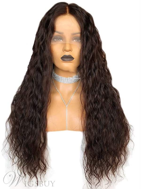 Long Loose Wave Synthetic Hair Lace Front Wig 26 Inches