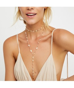 Crystal Multilayer romantic Necklace
