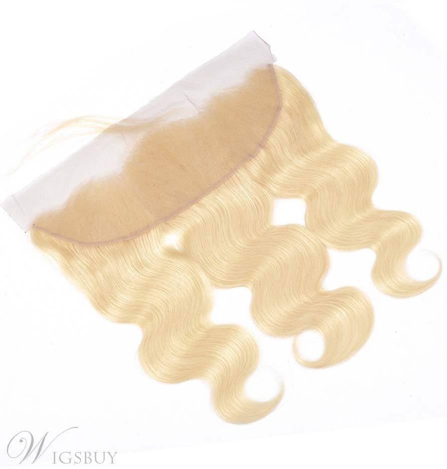 Wigsbuy Blonde Hair Color 613 Body Wave Lace Frontal