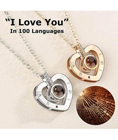 Alloy Loving You Necklace