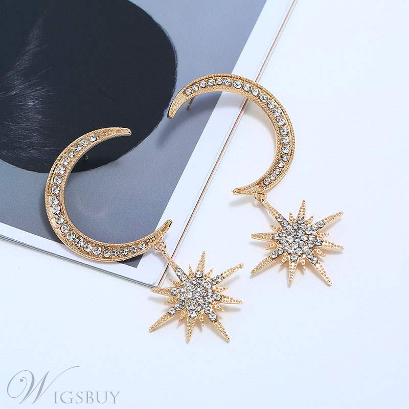 Moon&Star Women Earrings