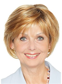 Layered Synthetic Hair Short Wavy 12 Inches Capless Wigs For Older Women