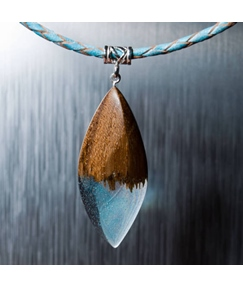 Wooden Pure Necklace For Lover