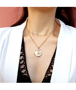 Plate Simple Necklace