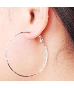 Hoop Simple Alloy Earrings