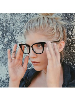 2019 New Fashion Cat Eye Glasses Frame