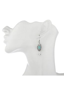 Turquoise Vintage Earrings For Women