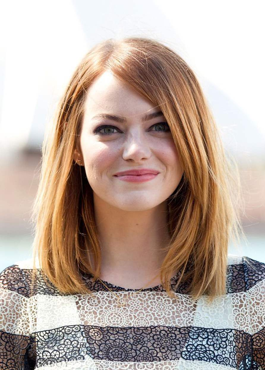 Classical Bob Top Quality Natural Straight Medium-Length Synthetic Hair Capless Wigs 16Inches