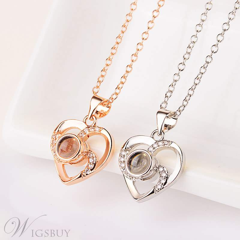 Love Shape Cute Necklace