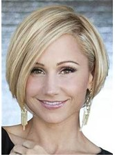 Bob Hairstyle Short Haircut For Round Face Shape