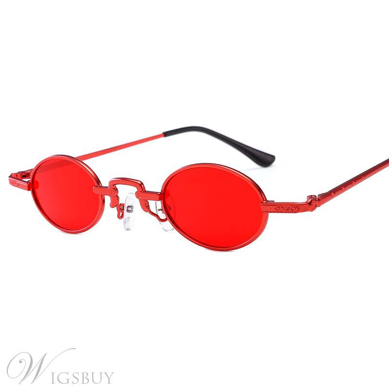 Vintage Round Sunglasses For Women