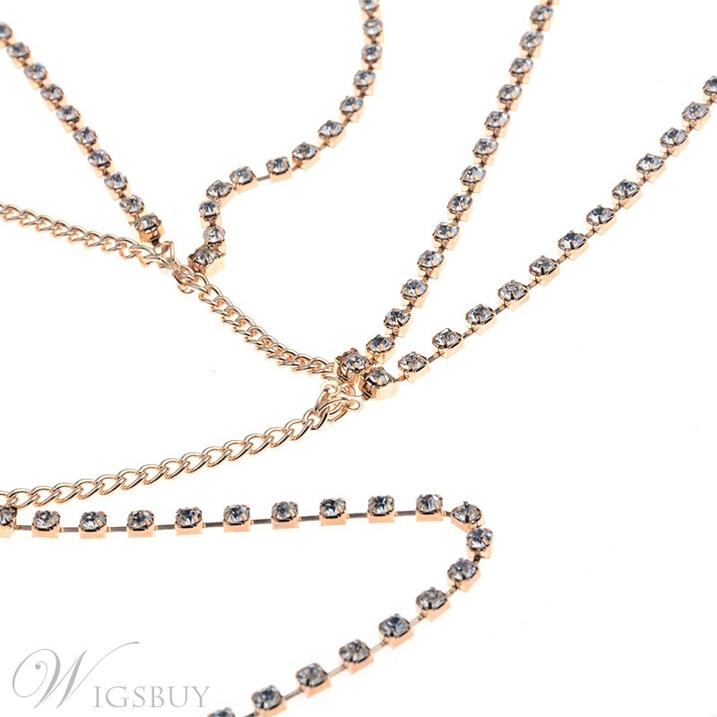 Diamante Body Chain Necklace
